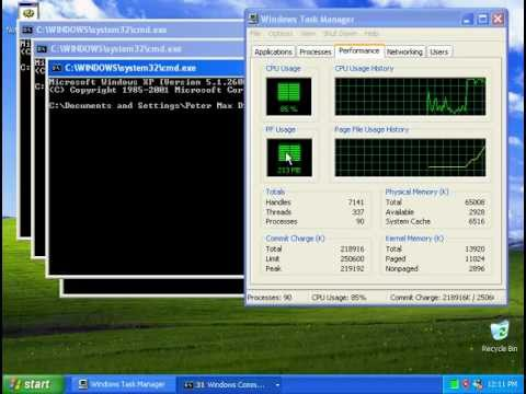 0 Windows Virus Tutorial #1   The Flooder Virus