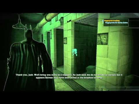 Batman Arkham Asylum (PS3) - 059, Main Cell Block, Guard Room, Cells Access