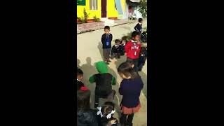 Outdoor activities for Kindergarten Kids of KM Blooming Hr. Sec. School, Khangabok