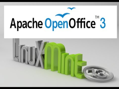 Install Apache OpenOffice 3.4.1 (latest) on Linux Mint 13