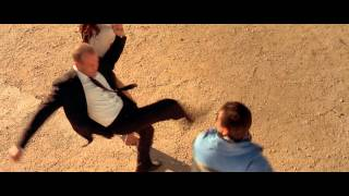 The Transporter 2002 Fight on the road scene
