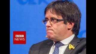 Catalonia: Spain withdraws Puigdemont arrest warrant - BBC News