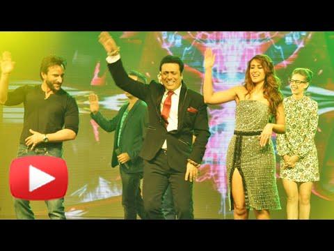Govinda Dances With Saif Ali Khan, Illeana D'Cruz And Kalki Koechlin   Happy Ending Music Launch