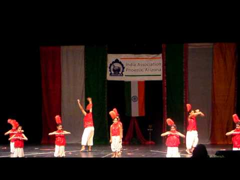India Nite 2010 - Jungle mein bole -Taal choreographed by Shikha...