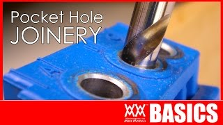 Beginners guide to pocket hole joinery  WOODWORKING BASICS