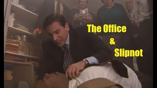 "The Office ""Fire Drill"" but it's HEAVY METAL"