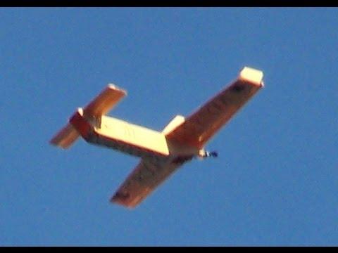 como construir un avion RC muy barato (planos PDF gratis)