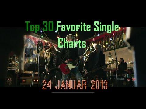 Top 30 Favorite Single Charts 24. Januar/January - Februar 2014