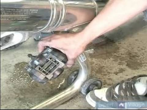 How to Repair Motorcycle Brakes : What is a Motorcycle Brake Caliper? Video