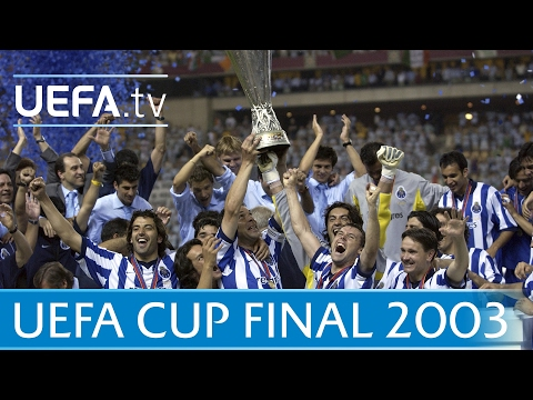 2003 UEFA Cup final highlights - Porto-Celtic