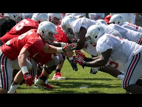Ohio State Football: Training Camp 8/8/14
