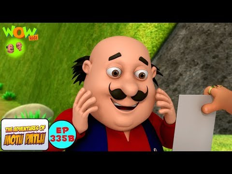 Heeron Ki Pagadi - Motu Patlu in Hindi - 3D Animation Cartoon for Kids -As seen on Nick thumbnail