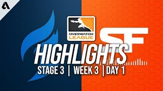 Dallas Fuel vs San Francisco Shock | Overwatch League Highlights OWL Stage 3 Week 3 Day 1