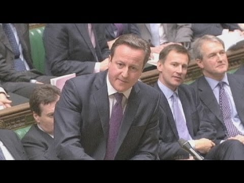 British PM David Cameron gives MPs teaser on EU stance