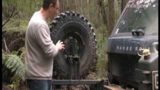 Heavily Modified Range Rover