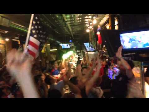 USMNT John Brooks Goal Celebration - Donnelly's, Iowa City,