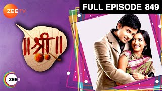 Shree | Full Episode 849 | Wasna Ahmed, Pankaj Singh Tiwari | Hindi TV Serial | Zee TV