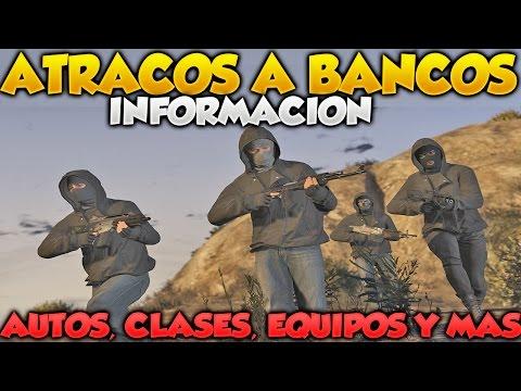 GTA V Online Atracos A Bancos Informacion Nuevos Vehiculos Clases Equipos Y Mas DLC GTA 5