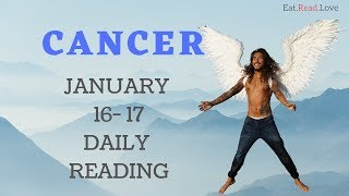 "CANCER DAILY ""NEW LOVE OR OLD LOVE, WHO DIS?"" JAN 16-17 TAROT READING"