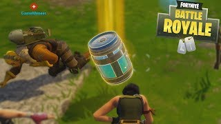NIEUWE CHUG JUG DRINKEN! - Fortnite Battle Royale Ft. GameMeneer