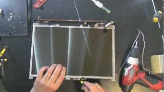HP DV4 laptop take apart video, disassemble, how to open