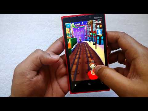 Subway Surfers for Windows Phone 8- Review