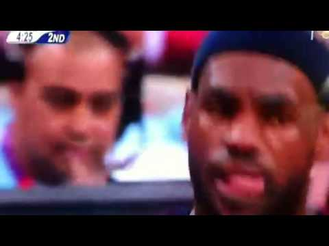 Lebron Olympic slip up