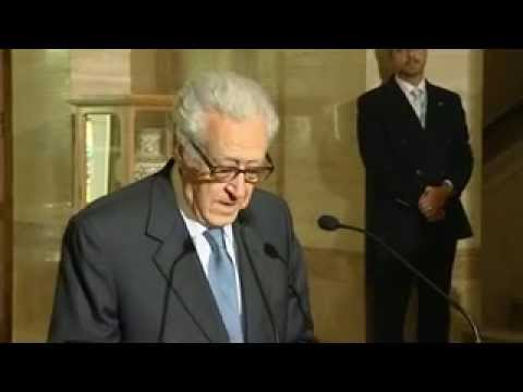 [UN] Lakhdar Brahimi (Syria, Russia and USA)  الأخضر الإبراهيمي سوريا و أمريكا و روسيا - مترجم عربي