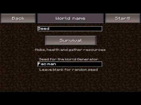 Pasar Mundo Supervivencia A Creativo - Minecraft Pocket Edition 0.6.1