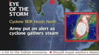Cyclone alert in West Bengal