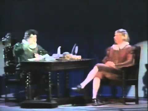 Rowan Atkinson & Hugh Laurie - Shakespeare And Hamlet (1989) video