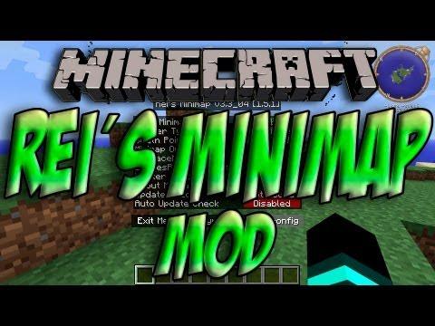 Minecraft 1.5.2 - Como Instalar REI´S MINIMAP MOD - ESPAÑOL [HD] 1080p