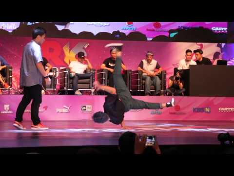 ISSEI v LIL ZOO / Final Battle / R16 2014 Final Bboy 1 on 1