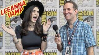 LeeAnna Vamp Cosplay Comic-Con 2017 (Full Interview)