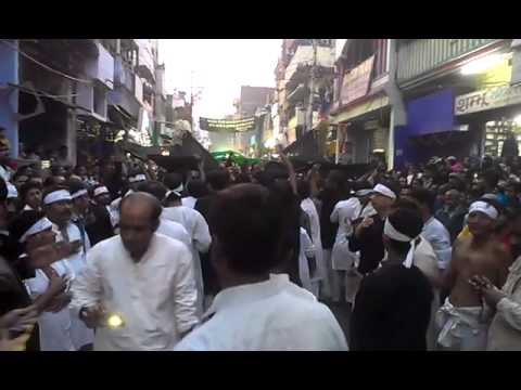 Zanzeer matam muharram 2013 Patna azadari - clip 1