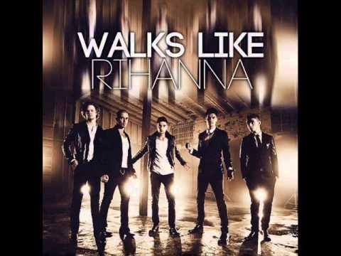 The Wanted - Walks Like Rihanna (Official HQ Lyrics) (DEMO)