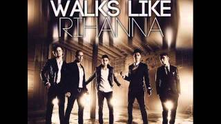 Rihanna Video - The Wanted - Walks Like Rihanna (Official HQ Lyrics) (DEMO)