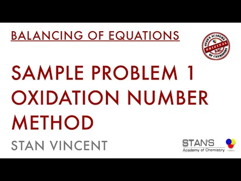 Redox Balancing | Oxidation Number Method