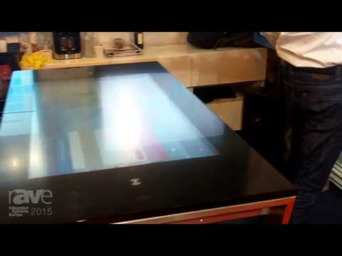 ISE 2015: Videofonika Launches Their Art Table with 42-inch Multi-Touch Touch Screen