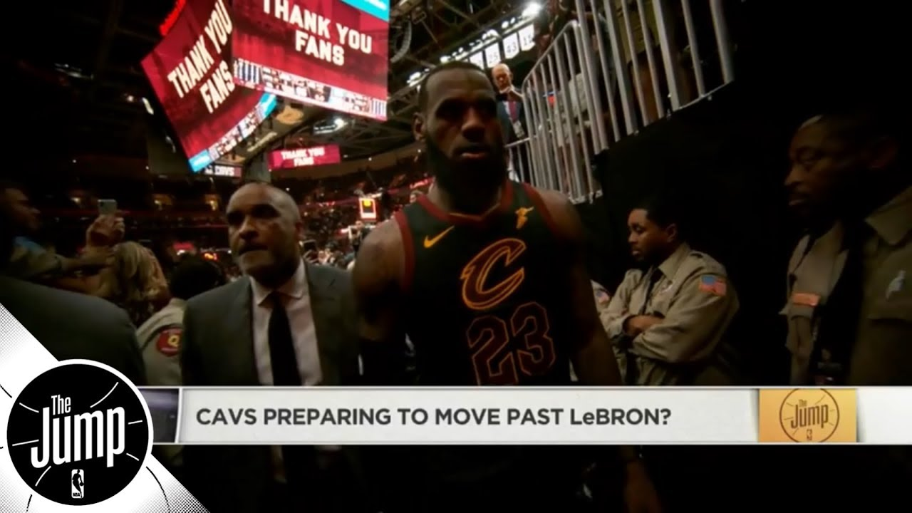 Are the Cavaliers preparing to move past LeBron James? | The Jump | ESPN