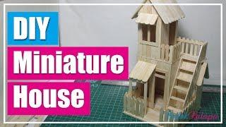 Categories Video Popsicle Stick Miniature House