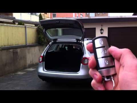 vw passat b6 auto trunk release opener closer fob. Black Bedroom Furniture Sets. Home Design Ideas