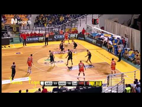 Aris Thessaloniki - Banvit B.K  66-48  Nick Galis Cup  20/9/14   ΝΕΡΙΤ
