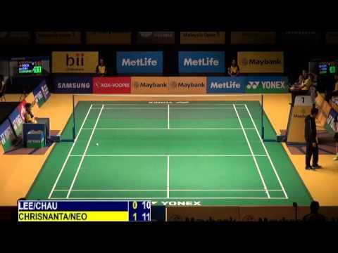 R32 - XD - D.B.Chrisnanta / Y.Y.V.Neo vs Lee C.H. / Chau H.W. - 2014 Malaysia Badminton Open