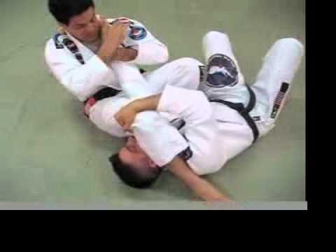 BJJ Escape From a Knee-on-Stomach Collar Choke Image 1