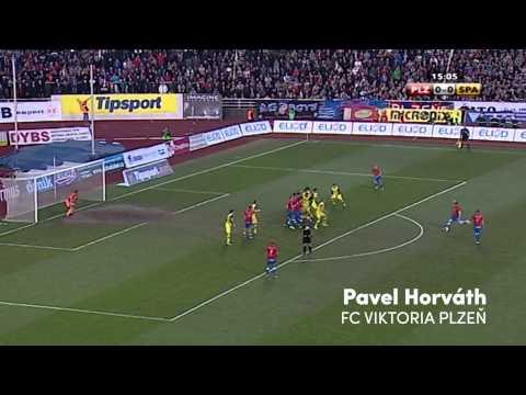 Nejlepší góly ze zápasů Sparta - Plzeň