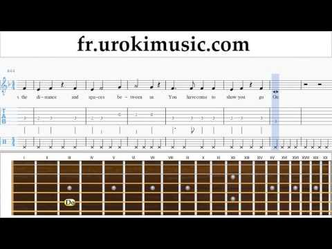 Comment Jouer De La Guitare Celine Dion - Titanic - My Heart Will Go On Tab Tablature Partie#2 Um