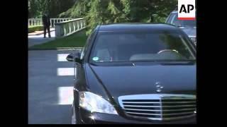 WRAP Bush meets Slovenian Pres; PM; EU summit arrivals; ADDS plenary session