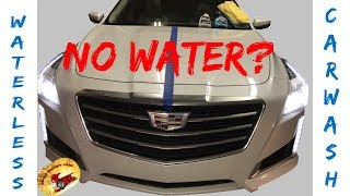 NO WATER Car Wash... Does it Work?..... Who Wins?