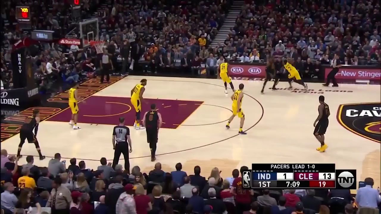 LeBron James Leads Cavs to Game 2 Win over Pacers with 46 Points
